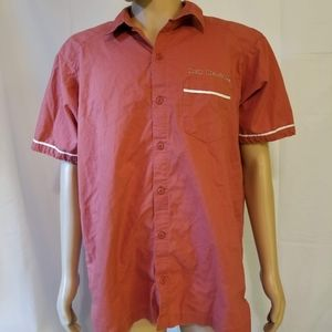 Rare patagonia new Belgium brewing beer Button up